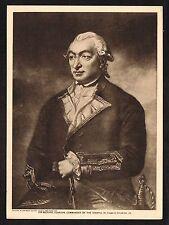 1910's Old Vintage Sir Richard Pearson Charles Grignion Art Photogravure Print