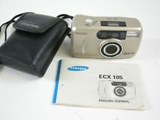 Samsung ECX 105 Point and Shoot film camera