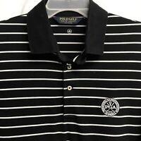 ⛳️Ralph Lauren Golf Men's Short Sleeve Polo Shirt Large L Striped🏇Free Shipping