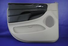 11-14 Chrysler Town Country Front Power Interior Door Panel Driver Left Gray
