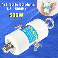 2020 1:1 Waterproof HF Balun for 160m - 6m Bands (1.8 - 50MHz) 500W Waterproof