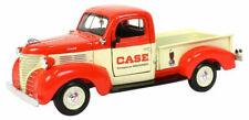 1941 Plymouth Orange Pickup Truck J. I. CASE 1/24 Diecast Metal SpecCast ZJD1857