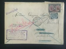 1942 Biala Gg General Government poland Official Germany cover 1 Zloty