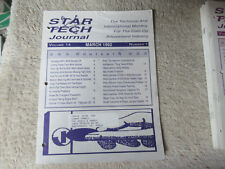 1992 march ADDAMS FAMILY  STAR TECH JOURNAL  manual