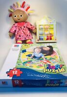 in the night garden toys used Bundle MB Jigsaw Soft Toy Upsy Daisy Picture Game