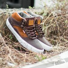 VANS Bedford (Duck Hunt) Brown/White Leather MEN'S 7 WOMEN'S 8.5