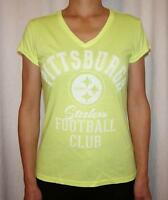 Pittsburgh Steelers G-III 4 Her by Carl Banks Womens V-Neck T-Shirt