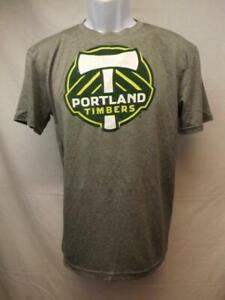 New-minor flaw MLS Portland Timbers Team Athletics Youth XLarge XL 18 Grey Shirt