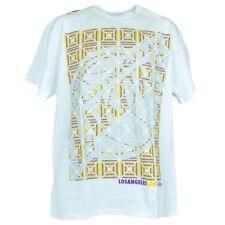 NBA los Ángeles Lakers Baloncesto Kaleidoscope Blanco Camiseta Auténtico Pequeña