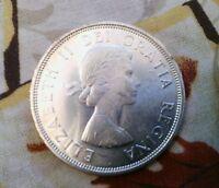 1964 S$1 Charlottetown Quebec Canada silver Dollar