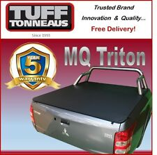 Mitsubishi Triton Dual Cab MQ with Sports Bar Clip On Ute Tonneau Cover
