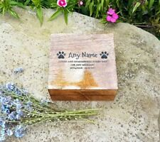 Cremation Urn Ashes Box Pet Box Pet Urn Dog Urn Cat Urn 12x12x6cm Engraved