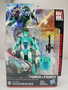 """Transformers """"Power of the Primes"""" Autobot Moonracer (Deluxe Class) Hasbro 2018"""