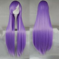 """Women's 100CM/39"""" Long straight Wig Cosplay Party Club Wig heat resistant Fiber"""