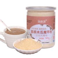 Pueraria papaya Konjac powder 500g 葛根木瓜魔芋粉 天然农家产品 代餐粉