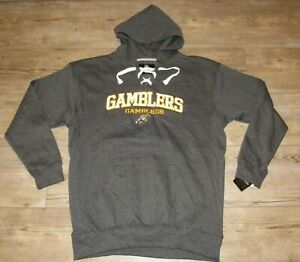 Green Bay Gamblers Hockey Hoodie Jacket Embroidered Twill Logos size Men's 3XL