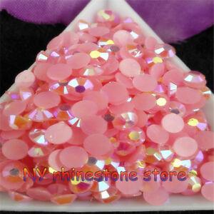 SS20 5mm jelly ab acrylic resin crystal rhinestone nail art rhinestones