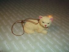 ksm. Christmas Ornament   Kitty Cat  1 9/16 Inch High at Ears