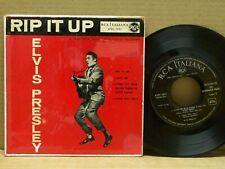 Elvis Presley - Rip It Up - 45 RPM - EP - RCA ITALIANA 1957
