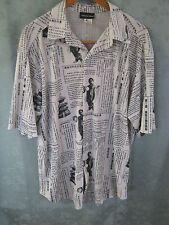 Johnny Max Size XL Club Shirt Oriental Print