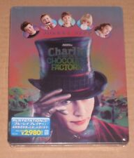 Charlie And The Chocolate Factory Japan Blu Ray Steelbook Limited Japanese New