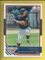 Keston Hiura RC 2017 USA Baseball Stars & Stripes Rookie Card Milwaukee Brewers