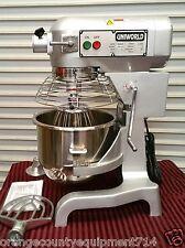 New 20 Qt Mixer & Accessories Uniworld Upm-20E Dough Nsf #2471 Commercial Bakery