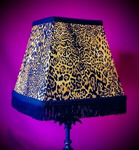 Leopard Print Table Lampshades, Wall Lights, Bedside Lampshades & Ceiling Lights