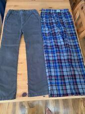 Boys gap trousers x 2. Age 12