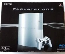 Sony PlayStation 3 40 GB CECHH00 Satin Silver Japanese Console with Original Box