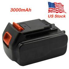 3.0Ah 20Volt Black&Decker Max Drill Driver 3000mAh Lion Battery Replacement LB20