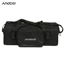 Andoer Large Size Black Photography Padded Carrying Bag For Light Equipment R7N1