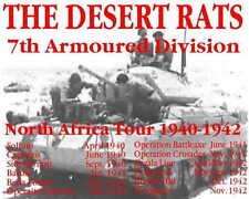 Desert Rats 8th Army British  ww2   Tshirt