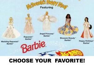 McDonald's 1997 Vintage Barbie Princess Toys-Pick Your Favorite!