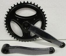 Guarnitura corona Bicicletta singola a perno quadro 42 denti pedivella bici Bike