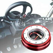 RED Smart Quick Release Hub Snap Off Boss Kit FIT MOMO OMP Steering Wheel NEW