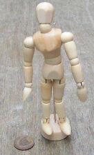 1:12 Scale Movable Wooden Mannequin Tumdee Dolls House Miniatures Dress Making