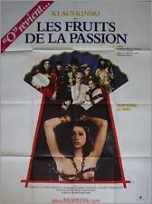 LES FRUITS DE LA PASSION Affiche Cinéma / Movie Poster Shuji Terayama