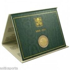 2 Euro Vaticano 2010 Folder Ufficiale Anno Sacerdotale Tiratura 115.000 monete