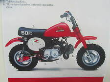HONDA Z50R 1982 DECALS KIT COMPLETE   REPRO