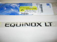 2005-2015 CHEVROLET EQUINOX LT LIFT GATE EMBLEM 25795263 22878313 23255003