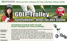 Internetshop/Projekt für Golfwagen und Golftrolley - www.Golfwagen.de
