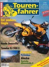 TF0004 + HONDA NT650V Deauville vs YAMAHA XJ900S Diversion + Tourenfahrer 4/2000