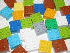 Lego Duplo ® Lot x2 Brique Construction 2x2 Brick Choose Color ref 3437