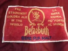 Belzebuth Beer Bar Towel New 00004000