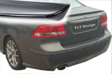 Saab 93 9 3 spoiler Body Kit lèvre Gloss Black peint trunk LIP alettone Besquet