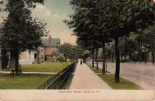 Postcard West Main Street Titusville Pa