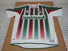Fluminense soccer jersey futbol shirt brasil brazil adidas Unimed vtg