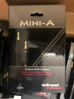 AudioQuest Mini-A 3.5mm 3.5mm to 3.5interconnect Cables 1m