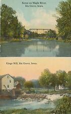 IDA GROVE IA – Maple River and Kings Mill